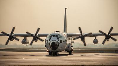 Algerian Air Force / Lockheed C-130H-30 Hercules / 7T-WHD