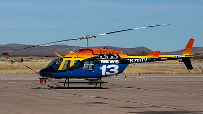 LIN Television News 13 / Bell 206L / N213TV