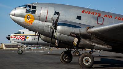 "Everts Air Fuel ""Salmon Ella"" / C-46F Commando / N1822M"