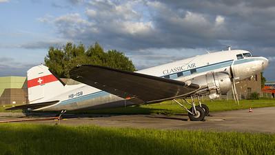 Classic Air / Douglas DC-3C Dakota / HB-ISB