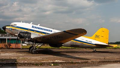 "Aerovanguardia / Douglas C-47A ""Skytrain"" / HK-3286"