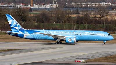 """Etihad Airways / B787-9 Dreamliner / A6-BND / """"Manchaster City"""""""