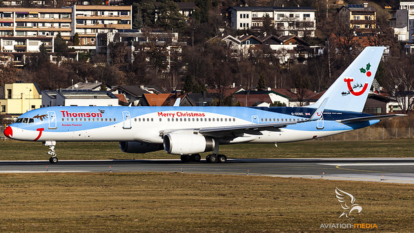 Thomson Fly Merry Christmas 2015