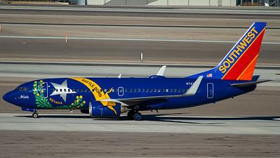 "Southwest Airlines / B737-700(W) / N727SW / ""Nevada One"""