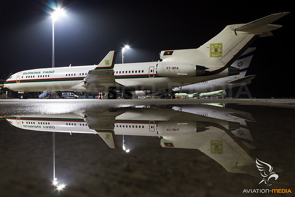 Burkina Faso Government Boeing 727