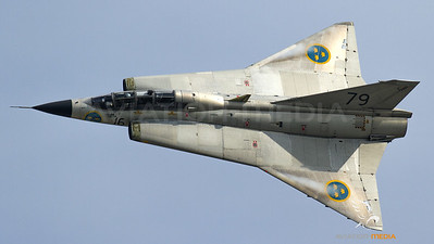 Swedish Air Force Historic Saab Draken