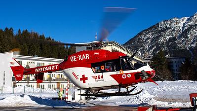 ARA Flugrettung - RK2 / MBB BK-117-C1 / OE-XAR