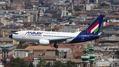 Malev over Budapest