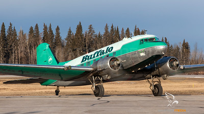 C-GPNR Buffalo Airways DC-3