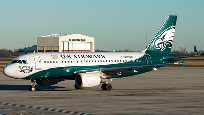 US Airways / A319-100 / N709UW / Philadelphia Eagles NFL