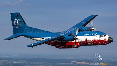 55 Years LTG63 Transall Air to Air