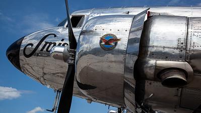 Swissair - HM / Douglas DC-3C Dakota / N431HM