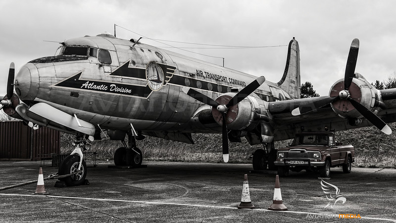 USAF C-54 at North Weald