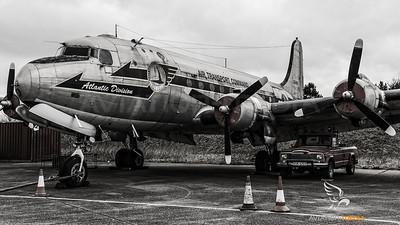 USAF C-54 at North Weald