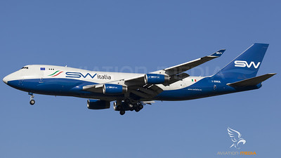 Silk Way italia Boeing 747-400F