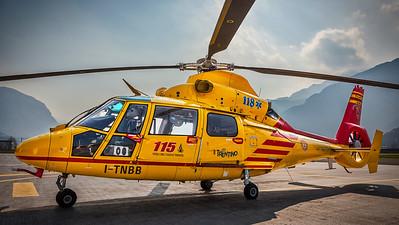 Vigili del Fuoco di Trento / Aérospatiale AS-365N-3 Dauphin 2 / I-TNBB