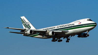 Evergreen International Airlines / B747-200SF / N486EV