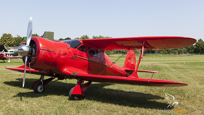 Staggerwing at Schleißheim Fly-In