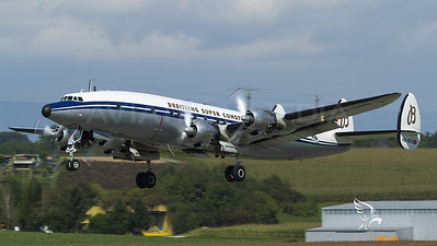 Super Connie take-off at Payerne