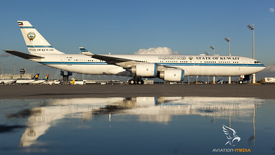 State of Kuwait A340-500 at Munich