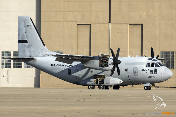 US Coast Guard / Alenia C-27J Spartan / 2707