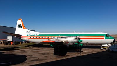 Buffalo Airways / Lockheed L-188C Electra / C-FIJX