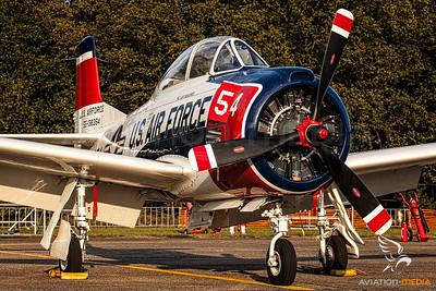 US Air Force T-28 Trojan