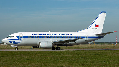 CSA Czech Airlines / B737-300 / OK-XGC / Blue Retro