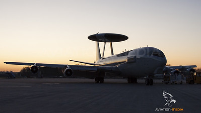 Awacs resting the night at Munich