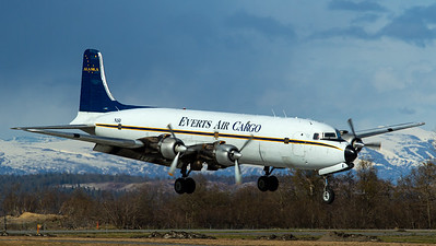 Everts Air Cargo / Douglas DC-6C / N151