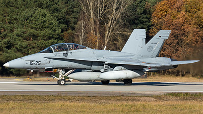 Spanish Air Force / EF-18BM Hornet / CE.15-06