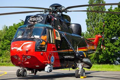"Belgian Air Force / Westland Sea King Mk.48 / RS-05 / ""25 Years SAR"""