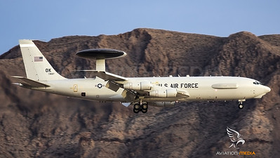 US Air Force Awacs @ Nellis