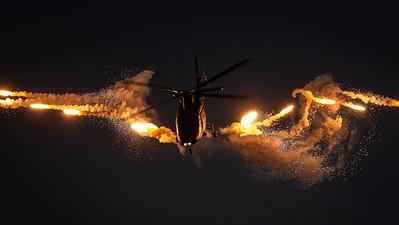 "Belgian Air Force / Agusta A109BA / H29 / ""Werewolf Display Team"""