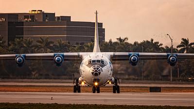 SRX Transcontinental / Antonov An-12BP / UK-12002