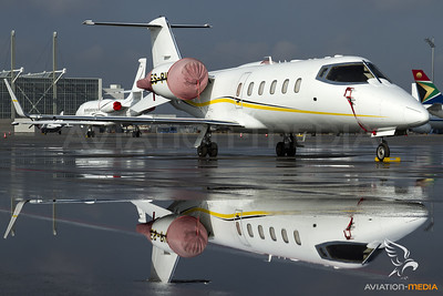 Learjet 60 reflection...