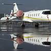 Learjet 45 reflection...
