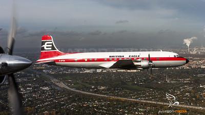 G-APSA British Eagle over Berlin