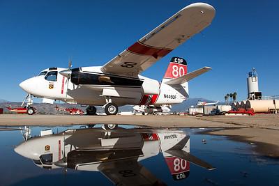 USDA Forest Service - Cal Fire / Grumman S-2-F3AT Turbo Tracker / N445DF