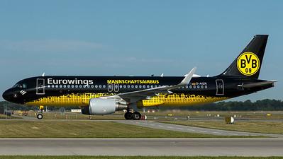 """Eurowings / A320-200 / D-AIZR / """"BVB09 Mannschaftsairbus"""""""