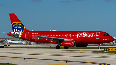 "jetBlue / A320-200 / N615JB / ""New York City Fire Department"""