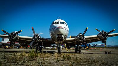 Brooks Air Fuel / Douglas C-54D Skymaster / N3054V