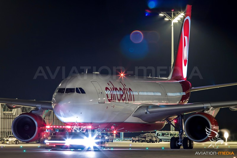 Air Berlin after push-back....
