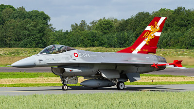 Royal Danish Air Force / F-16AM Fighting Falcon / E-194 / 50 Years Eskadrille 730