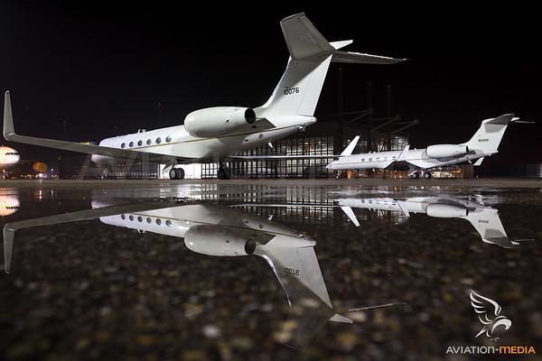 USAF Biz-Jets during Securityconference