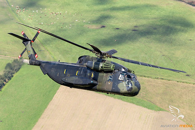 German Air Force  CH-53G 84+90