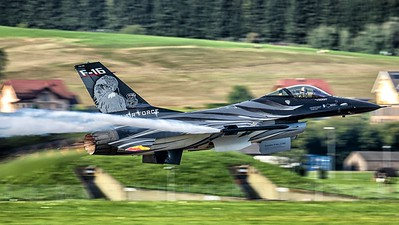 "Belgian Air Force / F-16AM Fighting Falcon / FA-101 / ""Vador Force"" 2019 Display Team"
