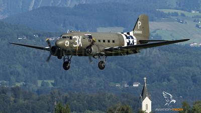 Paddy Green Douglas DC-3 in Salzburg