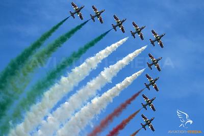 Frecce Tricolori....