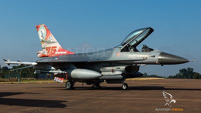 """RNLAF F-16 """"75 years 322. Squadron"""""""